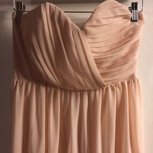 New Strapless Sweetheart Maxi Dress